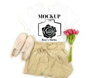 Bella Canvas 3001 Mockup Bundle - Tshirt Mockup Bundle Product Image 4