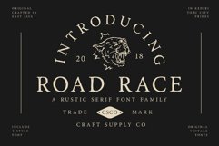 Road Race Font Family Extras Product Image 1