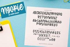 Ngopie - Fun Handwritten Font Product Image 5