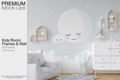 Kids Room - Wall & 90 Custom Frames Product Image 1