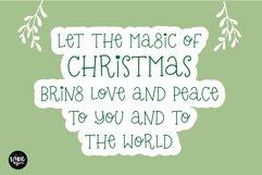 CHRISTMAS MISTLETOE a Script - Serif Christmas Font Duo Product Image 4