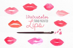 Watercolor Lips Product Image 1
