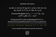 Velocity SVG Font Product Image 6
