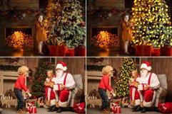 25 Christmas Tree Lights Overlays Product Image 2