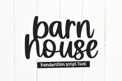 Barnhouse - Handwritten Script Font Product Image 1
