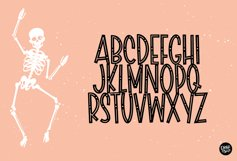 SCARY SKELLY a Halloween Display Font Product Image 2