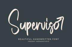 Supervisor - Handwritten Font Product Image 1