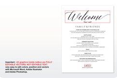 Wedding Invitation Bundle / Wedding Suite Bundle, TOS_34 Product Image 3