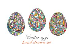 Easter eggs set. Product Image 4