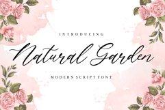 Natural Garden Modern Script Font Product Image 1