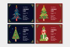Little Santa Font | merry christmas font | 8 christmas cards Product Image 4