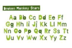 Broken Monkey - playful font Product Image 2