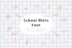 School Blots Font Product Image 1