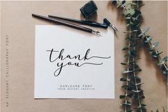 Darloune | An Elegant Calligraphy Product Image 6