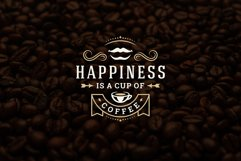 Coffee Quotes and Phrases set Product Image 6