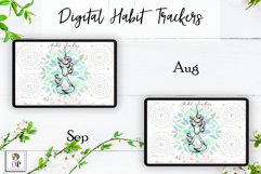 Digital Habit Trackers Y5 Yoga Series for Planner PRINTABLE Product Image 6