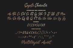 Sagesta - Luxury Script Font Product Image 6