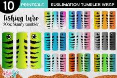 Download Fishing Lure 20 Oz Skinny Sublimation Tumbler Bundle 1217103 Sublimation Design Bundles