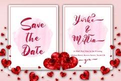 Balline // Wedding Script Font Product Image 3