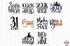 Mega Halloween SVG Bundle - 50 Designs Cut Files Product Image 5