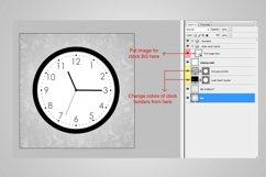 Wall Clock Mockup (Round) Product Image 4