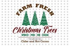 Farm Fresh Christmas Trees - Sign Product Image 2