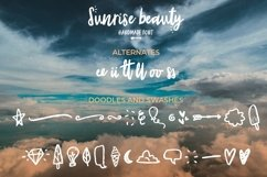 Sunrise | Handmade font and extras! Product Image 3
