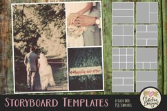 Storyboard Layered Photoshop Photo Templates & Tutorial Product Image 1