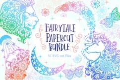 Fairytale Papercut Bundle - 16 SVG cut files Product Image 1