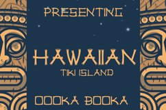 Hawaiian Tiki Island Font Product Image 1