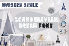 SCANDINAVIAN DREAM FONT Product Image 1