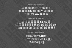 Web Font Zucca Font Product Image 5