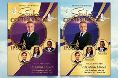 Speaker's Conference Church Flyer Product Image 5