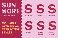 Sunmore - Elegant Font Product Image 2