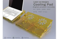 Cooling Pad - laser cutting file Product Image 2