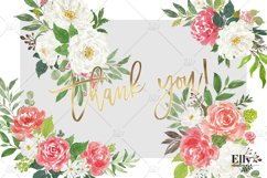 Watercolor Flowers clipart - Shantal Product Image 4