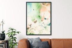 Abstract Wall Art Print,Khmer orange watercolor Product Image 5