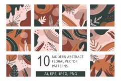 10 abstract vector pattern, 3 seamless pattern Product Image 1