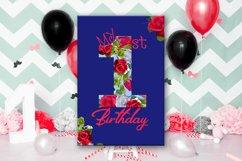 Birthday Card, Happy First Birthday,Cute 1st Birthday, SALE Product Image 6