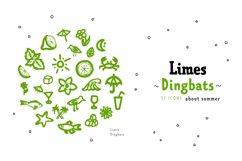 Limes—handmade fontfamily Product Image 2