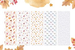 Autumn Vibes Watercolor Collection Clipart Product Image 4