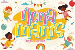 Nona Manis - Handwritten Trio Fonts Product Image 1