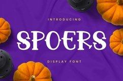 Web Font Spoers Font Product Image 1
