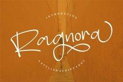 Web Font Ragnora - A Stylish Script Font Product Image 1