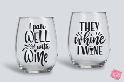 Wine Quotes Bundle SVG, EPS, DXF, PNG Product Image 5