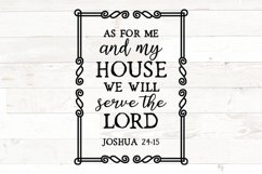 As for me and my house we will serve the lord joshua 24 15 Product Image 1