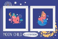 MOON CHILD illustrations & patterns Product Image 2
