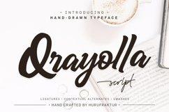 Qrayolla Script Product Image 1
