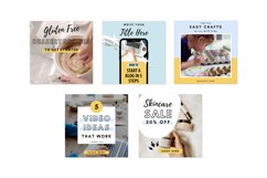 ANIMATED Video Templates Pinterest & Instagram Pack | Canva Product Image 5