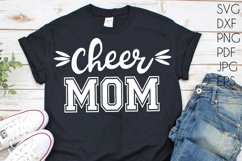 Cheer Mom svg Product Image 1